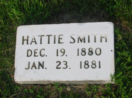 SMITH, HATTIE - Ida County, Iowa   HATTIE SMITH