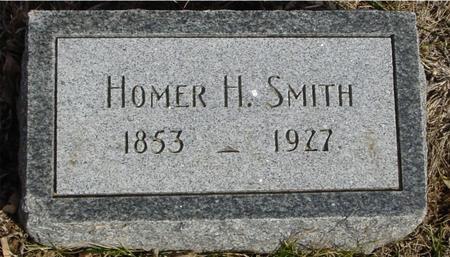 SMITH, HOMER H. - Ida County, Iowa   HOMER H. SMITH