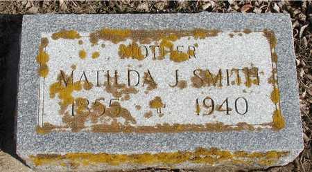 SMITH, MATILDA J. - Ida County, Iowa | MATILDA J. SMITH