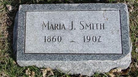 SMITH, MARIA J. - Ida County, Iowa   MARIA J. SMITH