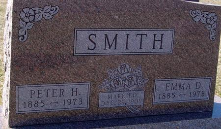 SMITH, PETER H. & EMMA D. - Ida County, Iowa | PETER H. & EMMA D. SMITH