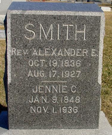 SMITH, REV. ALEXANDER E. - Ida County, Iowa | REV. ALEXANDER E. SMITH