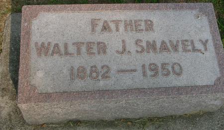 SNAVELY, WALTER J. - Ida County, Iowa   WALTER J. SNAVELY