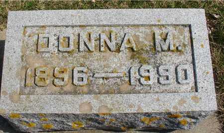 SNELL, DONNA M. - Ida County, Iowa   DONNA M. SNELL