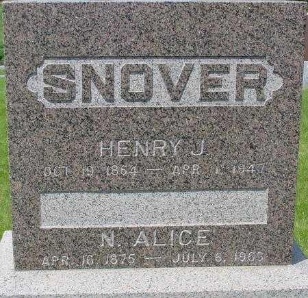 SNOVER, HENRY - Ida County, Iowa | HENRY SNOVER