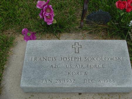 SOKOLOWSKI, FRANCIS JOSEPH - Ida County, Iowa | FRANCIS JOSEPH SOKOLOWSKI