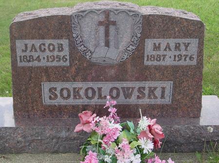 SOKOLOWSKI, JACOB & MARY - Ida County, Iowa   JACOB & MARY SOKOLOWSKI