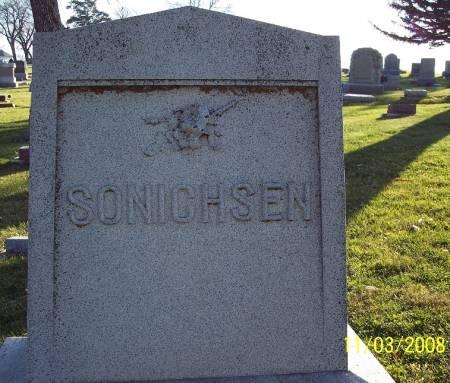 SONICHSEN, TOMBSTONE - Ida County, Iowa | TOMBSTONE SONICHSEN
