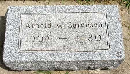 SORENSEN, ARNOLD W. - Ida County, Iowa | ARNOLD W. SORENSEN