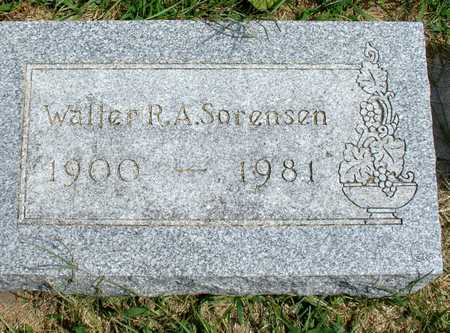 SORENSEN, WALTER R. A. - Ida County, Iowa | WALTER R. A. SORENSEN