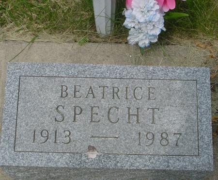 SPECHT, BEATRICE - Ida County, Iowa | BEATRICE SPECHT