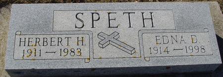 SPETH, HERBERT & EDNA D. - Ida County, Iowa | HERBERT & EDNA D. SPETH