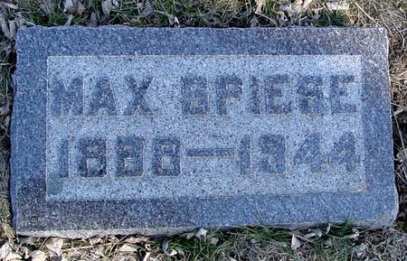 SPIESE, MAX - Ida County, Iowa | MAX SPIESE