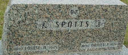 SPOTTS, DANIET T. & LOUISE - Ida County, Iowa | DANIET T. & LOUISE SPOTTS