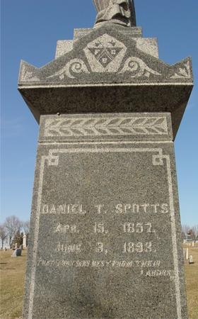SPOTTS, DANIEL T. - Ida County, Iowa   DANIEL T. SPOTTS