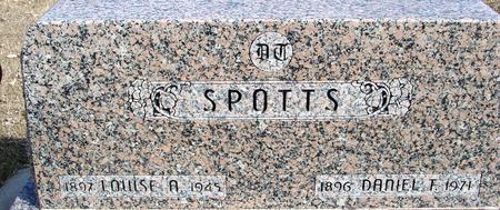 SPOTTS, DANIEL & LOUISE - Ida County, Iowa | DANIEL & LOUISE SPOTTS