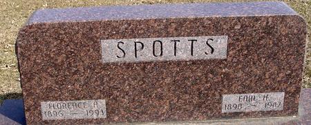 SPOTTS, EARL H. & FLORENCE - Ida County, Iowa | EARL H. & FLORENCE SPOTTS