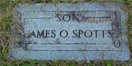 SPOTTS, JAMES O. - Ida County, Iowa   JAMES O. SPOTTS