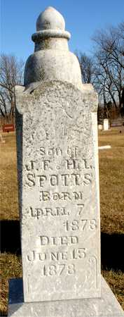 SPOTTS, JONNIE F. - Ida County, Iowa | JONNIE F. SPOTTS