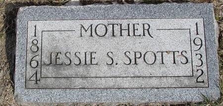 SPOTTS, JESSIE S. - Ida County, Iowa   JESSIE S. SPOTTS
