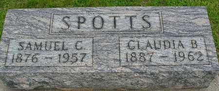 SPOTTS, SAMUEL  & CLAUDIA - Ida County, Iowa | SAMUEL  & CLAUDIA SPOTTS
