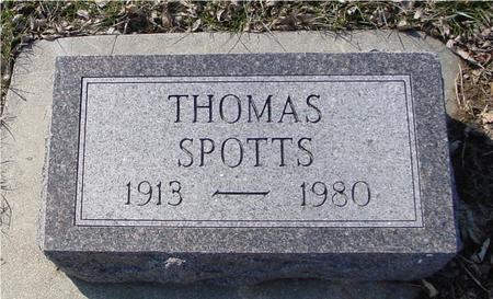 SPOTTS, THOMAS - Ida County, Iowa | THOMAS SPOTTS