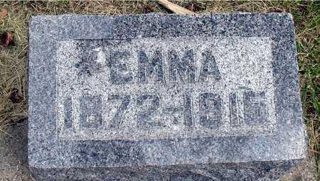 STANGE, EMMA - Ida County, Iowa   EMMA STANGE