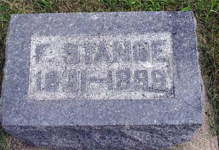 STANGE, J. FREDERICK - Ida County, Iowa   J. FREDERICK STANGE