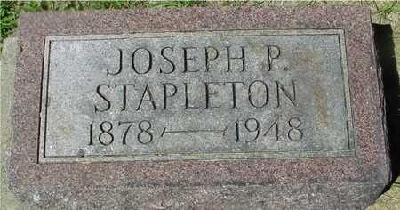 STAPLETON, JOSEPH P. - Ida County, Iowa | JOSEPH P. STAPLETON