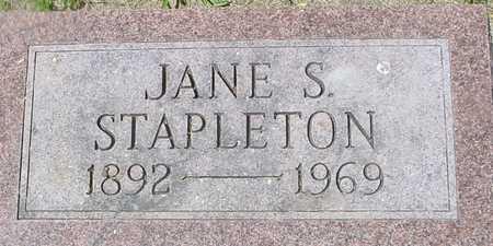 STAPLETON, JANE S. - Ida County, Iowa | JANE S. STAPLETON