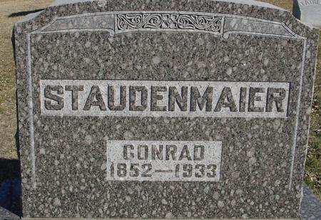 STAUDENMAIER, CONRAD - Ida County, Iowa | CONRAD STAUDENMAIER