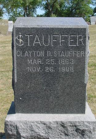 STAUFFER, CLAYTON - Ida County, Iowa   CLAYTON STAUFFER