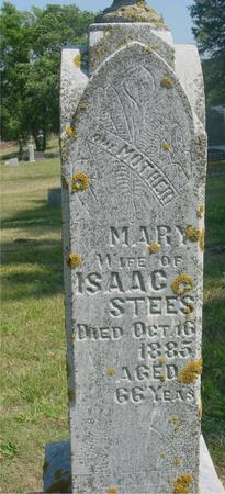 STEES, MARY - Ida County, Iowa | MARY STEES