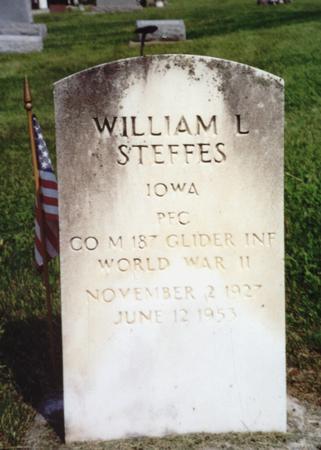 STEFFES, WILLIAM - Ida County, Iowa | WILLIAM STEFFES