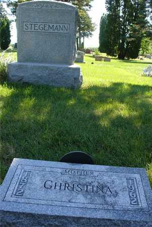 STEGEMANN, CHRISTINA - Ida County, Iowa   CHRISTINA STEGEMANN