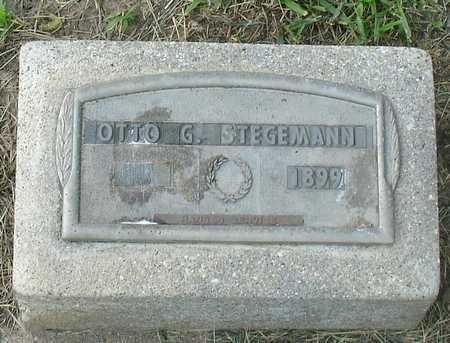 STEGEMANN, OTTO G. - Ida County, Iowa   OTTO G. STEGEMANN