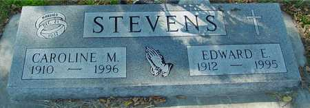 STEVENS, EDWARD & CAROLINE - Ida County, Iowa | EDWARD & CAROLINE STEVENS