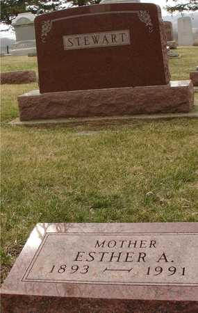 STEWART, ESTHER A. - Ida County, Iowa | ESTHER A. STEWART
