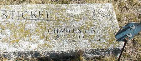 STICKEL, CHARLES E. A. - Ida County, Iowa   CHARLES E. A. STICKEL