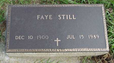 STILL, FAYE - Ida County, Iowa | FAYE STILL