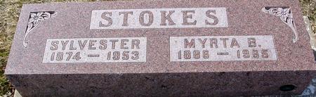 STOKES, SYLVESTER & MYRTA - Ida County, Iowa | SYLVESTER & MYRTA STOKES