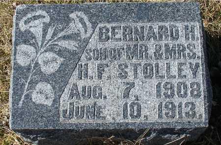 STOLLEY, BERNARD H. - Ida County, Iowa | BERNARD H. STOLLEY