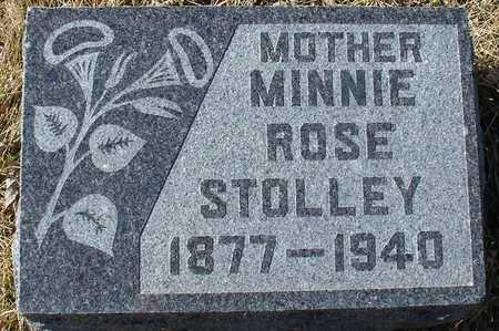 STOLLEY, MINNIE ROSE - Ida County, Iowa   MINNIE ROSE STOLLEY