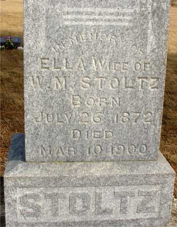 STOLTZ, ELLA - Ida County, Iowa   ELLA STOLTZ