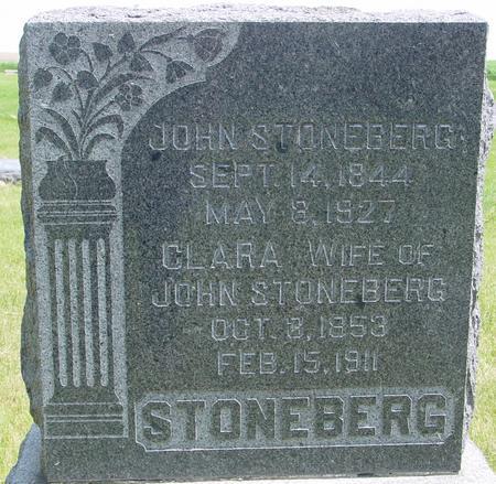 STONEBERG, JOHN` - Ida County, Iowa | JOHN` STONEBERG