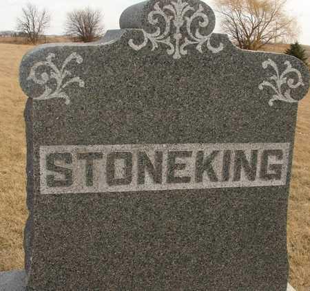 STONEKING, FAMILY MARKER - Ida County, Iowa | FAMILY MARKER STONEKING