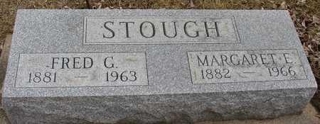 STOUGH, FRED & MARGARET E. - Ida County, Iowa   FRED & MARGARET E. STOUGH