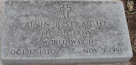 STRAIGHT, ALVIN R. - Ida County, Iowa   ALVIN R. STRAIGHT