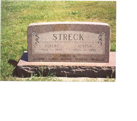 STRECK, ALBERT & ALVINA - Ida County, Iowa | ALBERT & ALVINA STRECK