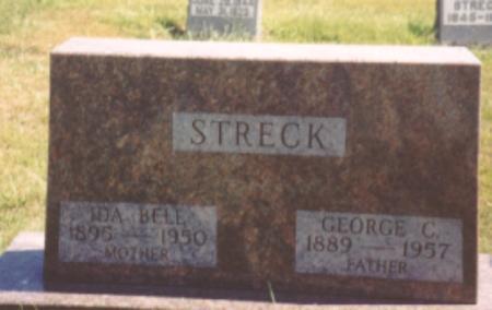 STRECK, GEORGE C. & IDA - Ida County, Iowa | GEORGE C. & IDA STRECK